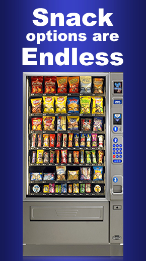 Snack Vending Machines Los Angeles and Orange County